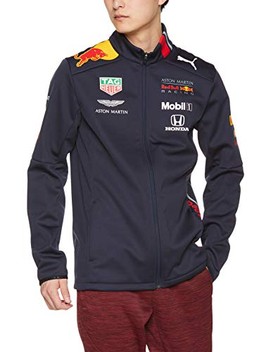 Red Bull Racing Herren Softshelljacke Jacke Team 2019 Puma Aston Martin Blau (L)
