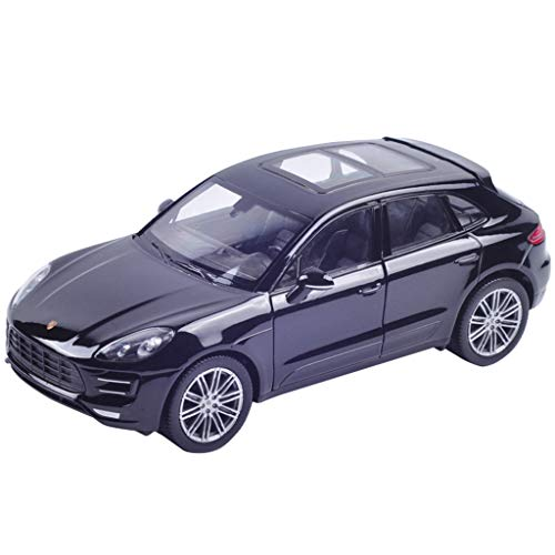 XINGPING-TOY Porsche Alloy Car Model 1:24 Simulationsauto-Modell (Farbe : SCHWARZ)