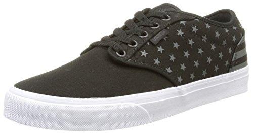 Vans M Atwood, Herren Sneakers, Schwarz (Black Out/Black/Raven), 39 EU (15 Schuhe-vans Größe Herren)
