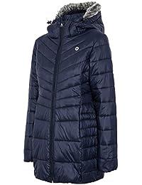 4F Mujer Abrigo Acolchado Chaqueta, invierno otoño otoño/invierno, mujer, color azul marino, tamaño xx-large