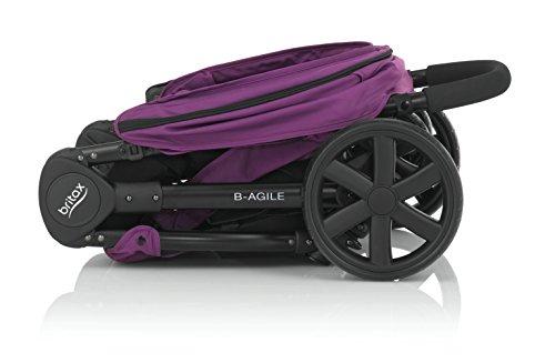 Britax B-Agile Poussette avec 4 Roues Mineral Lilac