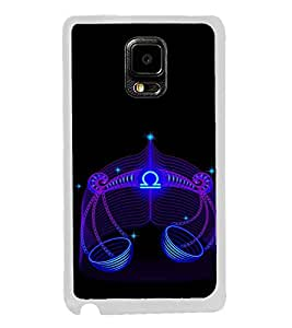 ifasho zodiac sign Libra Back Case Cover for Samsung Galaxy Note 4 Edge
