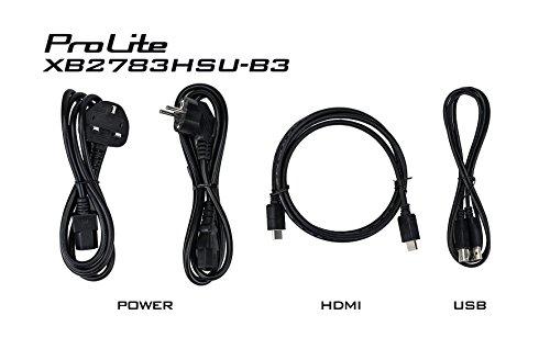 iiyama XB2783HSU B3 27 inch ProLite Height diverse AMVA HD LED Monitor Black Products