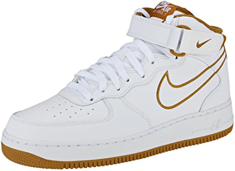 Nike Air Force 1 Mid '07 Lthr, Zapatillas para Hombre