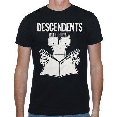 Descendents - Uomo Everything Sucks T-Shirt, XX-Large, Nero