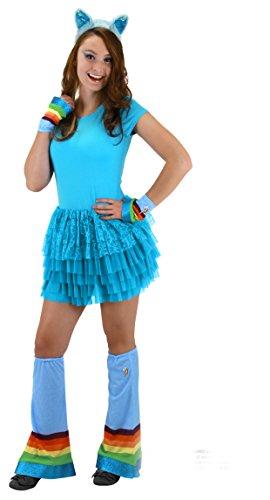 ow Dash Adult Costume Headband (My Little Pony Rainbow Dash Kostüm)