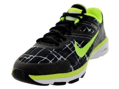 Nike Dual Fusion TR 2 Print 631661-003 Women's Fitness Shoes Vert/gris