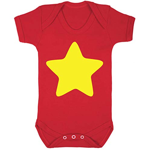 Cloud City 7 Steven Universe Yellow Star Baby Grow Short Sleeve