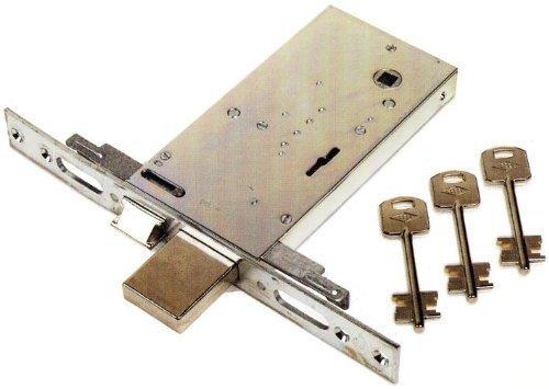 Serratura Elettrica da Infilare Feb Art. 6973 Misura 70 mm Frontale 25 mm 12v