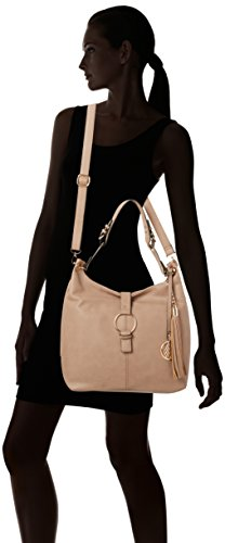 Wallis - Slouch, Borse a Tracolla Donna Beige (Taupe)