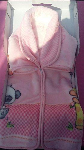 mervy–Baby Tasche–Schlafsack–Einschlagdecke–Fleecedecke Baby–Fuchsia