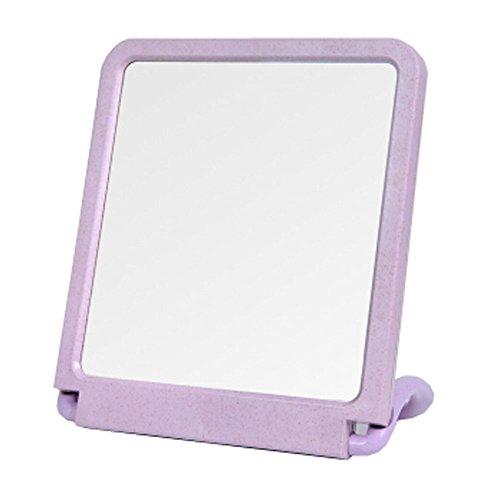 "Bad Handspiegel Vanity Mirror Tischplatte Make-up Spiegel 7.87 ""x11.81"" (Lila)"