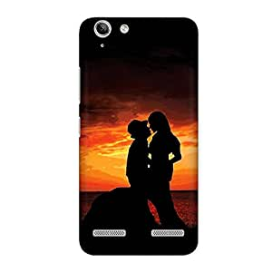 CrazyInk Premium 3D Back Cover for Lenovo Vibe K5 Plus - ROMMANTIC COUPLE