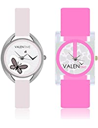 Valentime Analogue Multicolor Dial Women's Watch - W07-05-08-COMBO-B