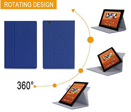 sony tablet z4 XEPTIO Sony Xperia Z4Tablet-Custodia Protezione ultimkaz Pelle Stile Blu-Cover Touch Tablet Sony Xperia Z4Tablet 10.1Pollici Blu-Accessori Astuccio Cover Case