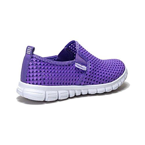 holees Original Damen Memory Foam leicht-Slipper Schuhe, verschiedene Farben und Größen zur Auswahl Lila