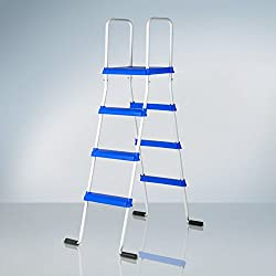 Manufacturas Gre ET1300 - Escalera standard con plataforma para piscina de altura 132cm