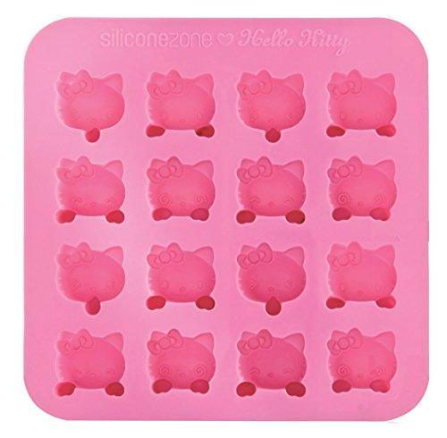 nicewave Hello Kitty Collection 17,5cm Antihaft Silikon Schokolade Schimmel, Pink