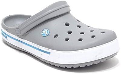 Crocs - Chanclas para hombre Gris gris