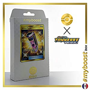 Mixeur Perdu (Batidora Perdida) 233/214 Entrenadore Secreta - #myboost X Soleil & Lune 8 Tonnerre Perdu - Box de 10 Cartas Pokémon Francés