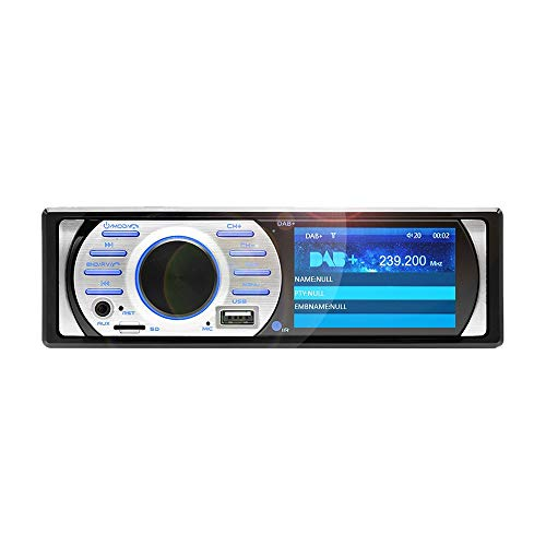 TOOGOO 3,0 Zoll Hd 1Din Auto Radio Auto Audio Stereo 12V Unterstützung Dab + FM USB/Tf Aux Bluetooth Schnittstelle In-Dash 1 Din Auto Mp5 Player - Stereo Auto Dab