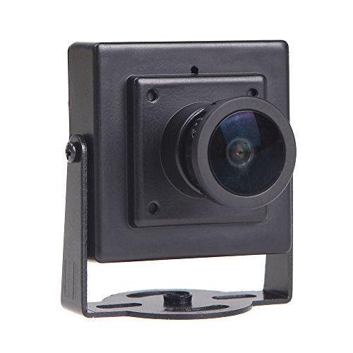 "GoolRC Mini HD 700TVL 1/3"" CMOS 2.1mm Wide Angle Lens CCTV Security FPV Color Camera NTSC System"