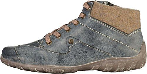 Rieker L6510-14 Stivali Donna Blau