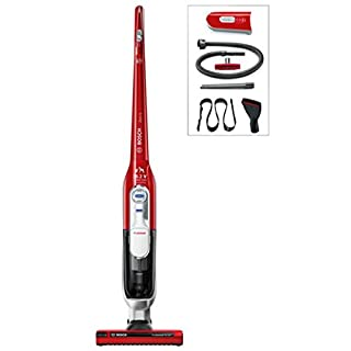 Bosch Ltd ATHLET BCH65TRPGB Cordless Upright Vacuum Cleaner Bagless Tornado Red