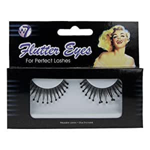 False Eyelashes By W7 Reusable + Glue Included 27