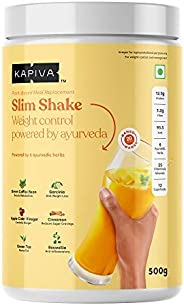 Kapiva Slim Shake - New & Improved - India's First Ever Complete Meal Replacement Powered With 6 Ayurv