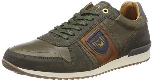Pantofola d'Oro Herren Teramo Uomo Low Sneaker, Grün (Olive .52A), 42 EU - D 18 Grün
