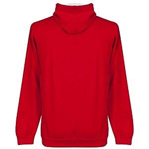 Steven Gerrard Liverpool Legend Hoodie - Red/White - S by Retake