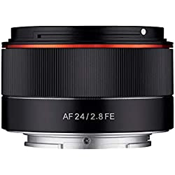 Samyang AF 24mm F2.8 FE - Grand Angle Compact - Objectif autofocus pour Sony E, FE, E-Mount, Sony A9, A7, A6500, A6300, A6000, A5100, A5000, NEX