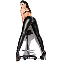 Sexy KouCla Leggings mit Zipper im Wetlook oder mit Spitze