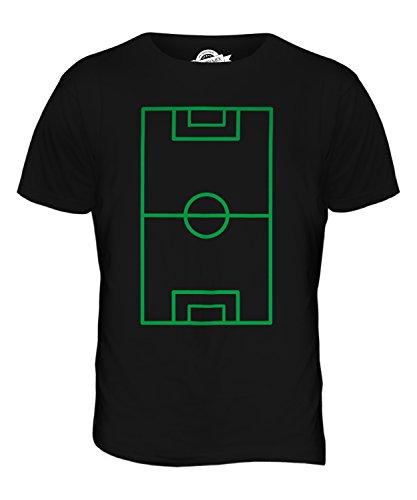 CandyMix Fußballplatz Herren T Shirt Schwarz