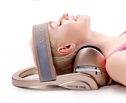 Preisvergleich Produktbild LIU-Traction Device Halskragen Zervikale Traktion Multifunktionales - D&F Infrarotheizung,  Vibrations- und Airbagmassage,  entlasten Ermüdung / Home Verbesserte Ausrichtung der Wirbelsäule