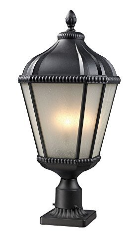 z-lite-513phm-bk-pm-waverly-outdoor-post-light-aluminum-frame-black-finish-and-white-seedy-shade-of-