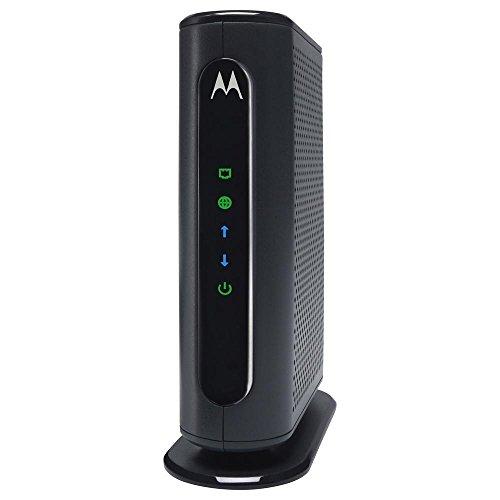 Motorola 8x4 Cable Modem Model MB7220 343 Mbps DOCSIS 3.0 Black