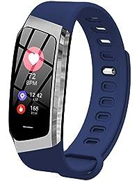 Fitness Tracker Pression artérielle Moniteur de fréquence Cardiaque podomètre Tracker d'activité Montre Bluetooth Smart Bracelet