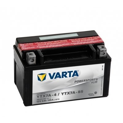 Varta Funstart AGM 506015005 A514 12 V 6 AH (Battery YTX7A - 4-YTX7A-BS