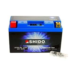 Batterie lithium-ion :  shido motorradbatterie yT7B-bS-légère lipo batterie de démarrage/batterie pour ducati panigale shido aBS - 1199 s à partir de 2014.