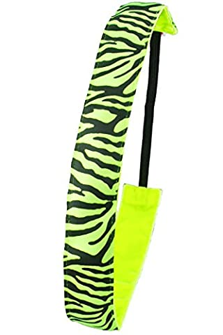 Ivybands®   Das Anti-Rutsch Haarband   Neon Grün Tiger   One size IVY280