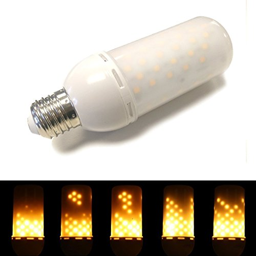 BarcelonaLED V501 LED LED Feuereffekt Flackerlicht Flammen Lampe Flame Light Energiesparlampe Leuchte Glühbirne für indoor und outdoor Dekoration, 1er Pack