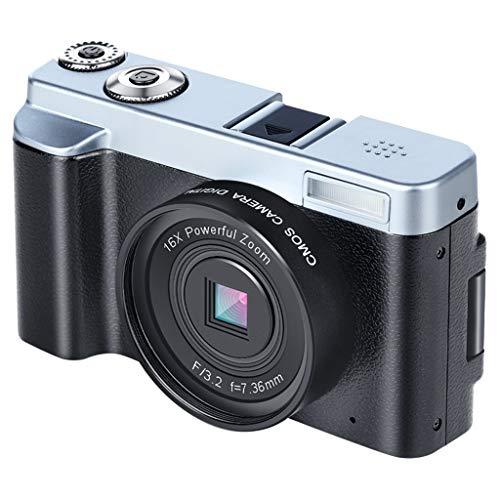 WOB Digitalkamera,3-Zoll-Vollbildmodus | Digitalkamera- und Videofunktion | Integriertes Wi-Fi | HDMI-Steckplatz | Weißabgleich | 16-facher Digitalzoom Camcorder Mit Teleobjektiv