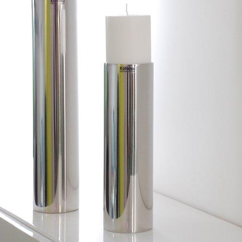 Leuchter SUB, Kerzenleuchter, Edelstahl, 25 cm, Kaheku