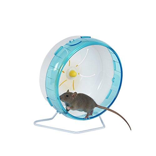 Pet Ting Premium - Rueda para Ratones, hámsters, gerbos, Ratas, etc.