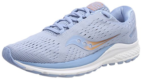 Saucony Damen Jazz 20 Laufschuhe Blau (Light Blue/Copper 30) 39 EU