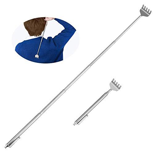 DECARETA Rückenkratzer, 2 Stück Teleskopisch-Rückenkratzer Rückenkratzer Ausziehbar kratzwerkzeug für Rücken Kopf Kratzen Back jucken von 16-50,5cm -
