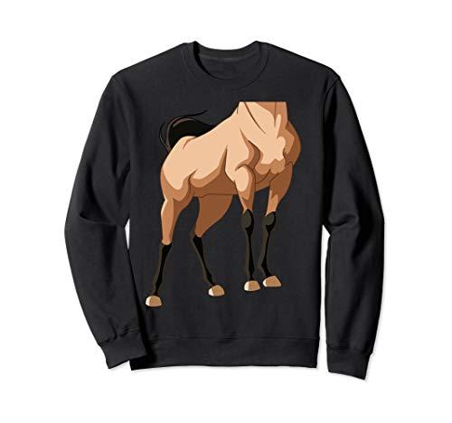 Halloween Pferd Körperkostüm für Kinder Sweatshirt