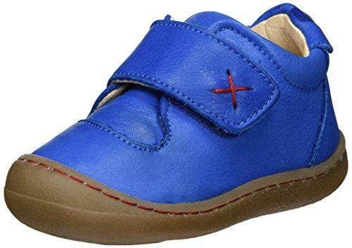 Pololo Unisex Baby Primero Lauflernschuhe, Blau, 24 (Schuhe 1950)